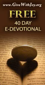 Click here to receive your free electronic devotional