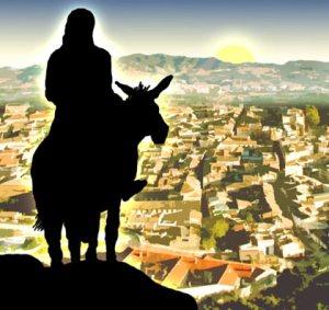 Jesus on the colt