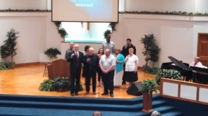 IHCC BBall Players Singing I Shall Not Be Moved