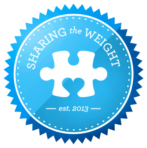 Sharing the Weight Logo
